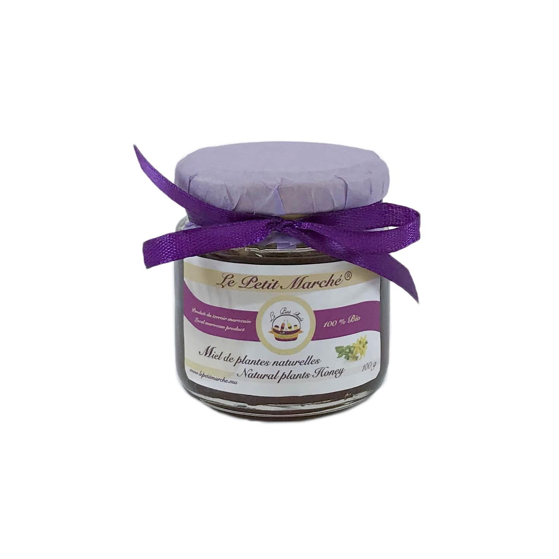 Miel de plantes naturelles 100g