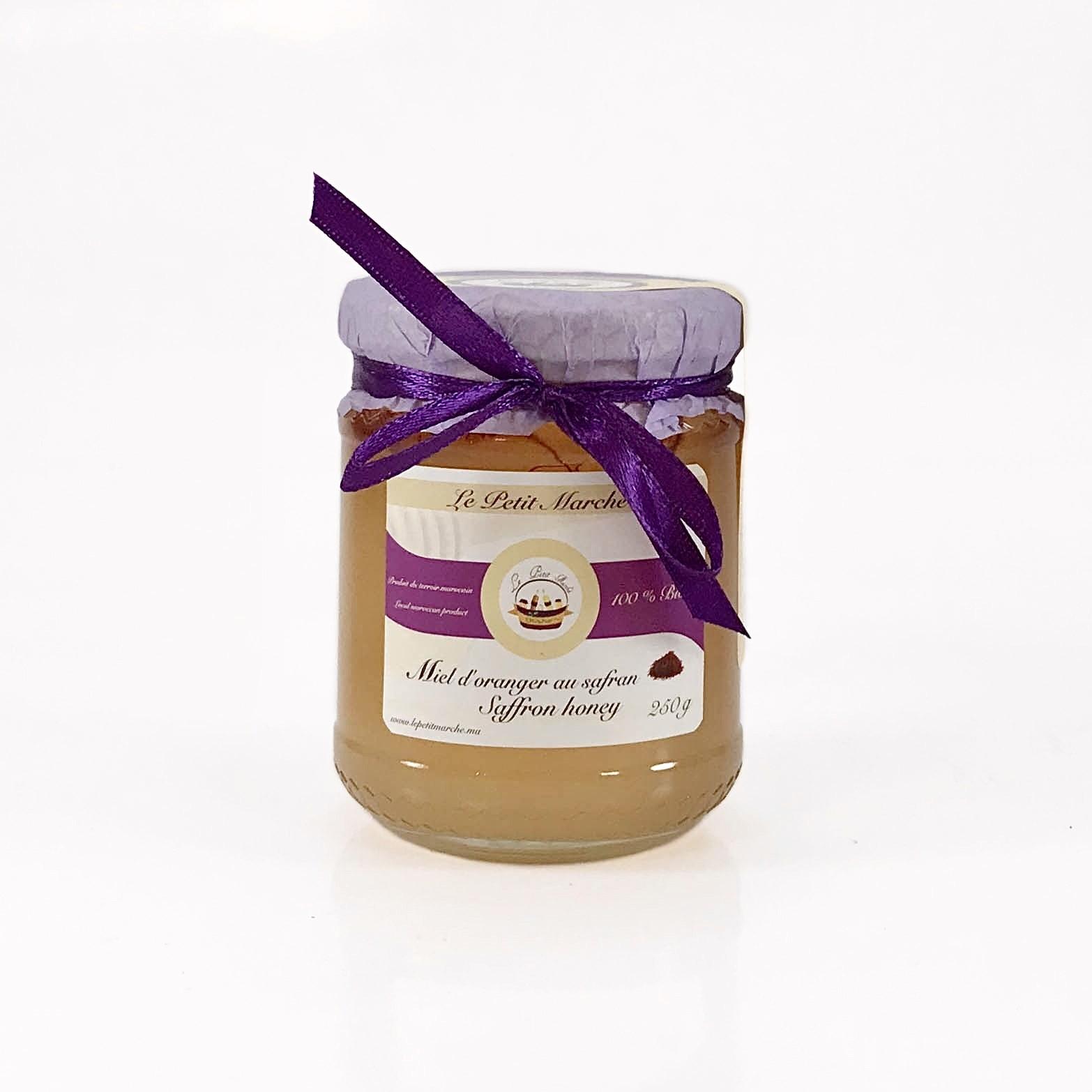 Miel d'oranger au Safran 250g