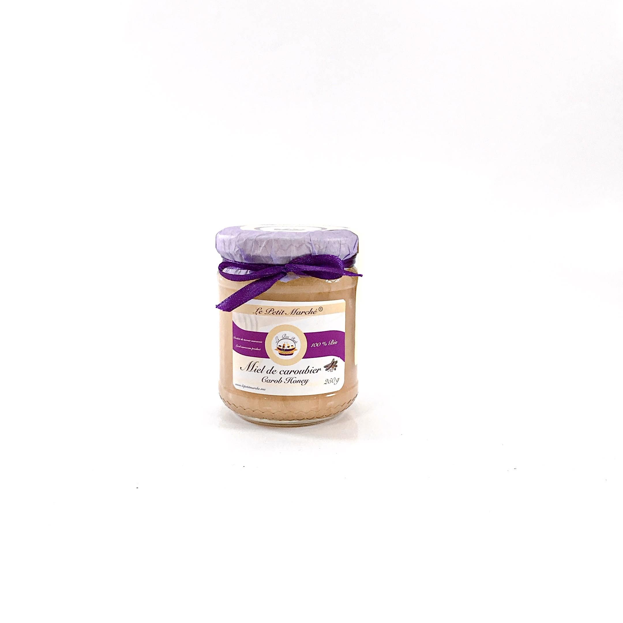 Miel de caroubier 250g