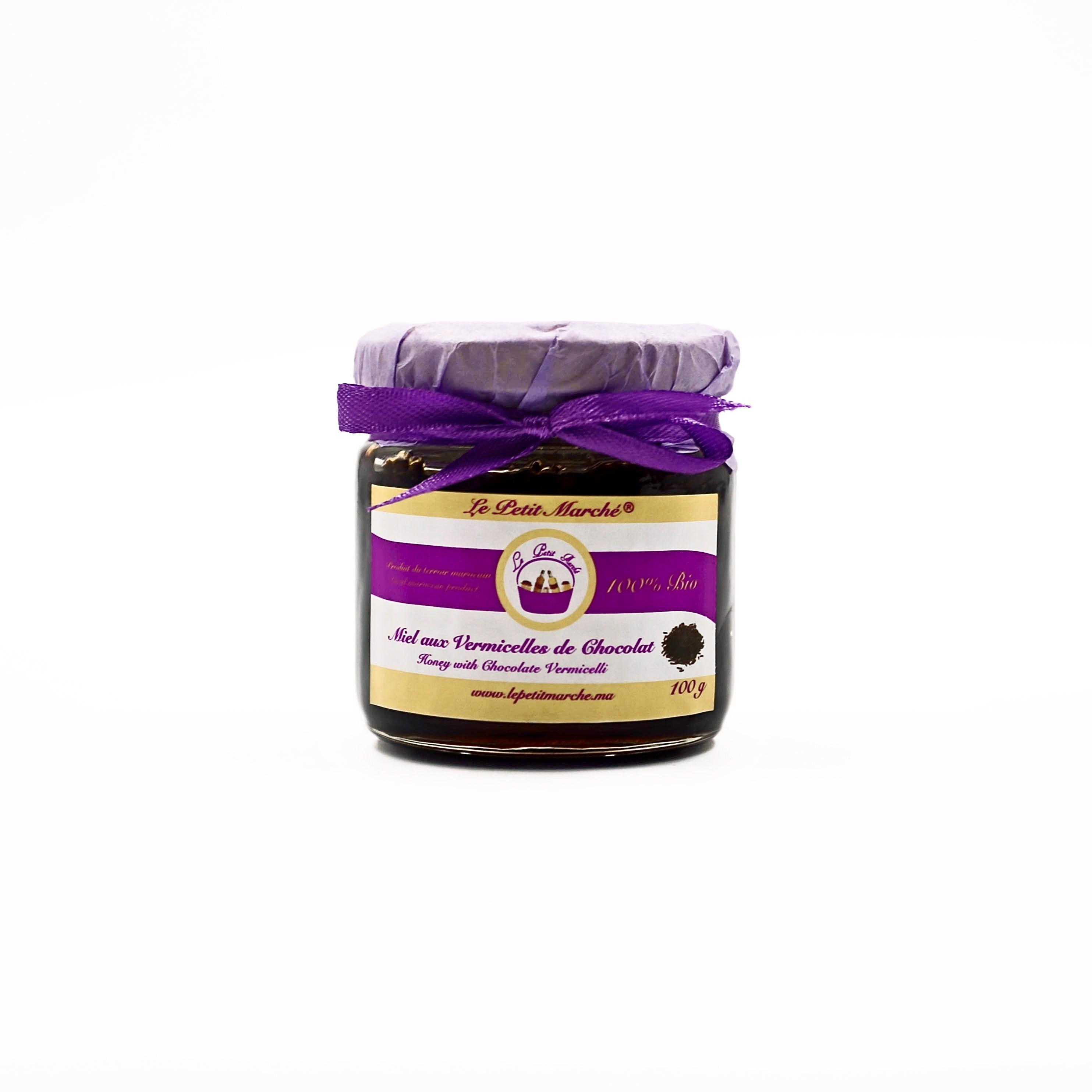 Miel aux vermicelles de chocolat 100 g