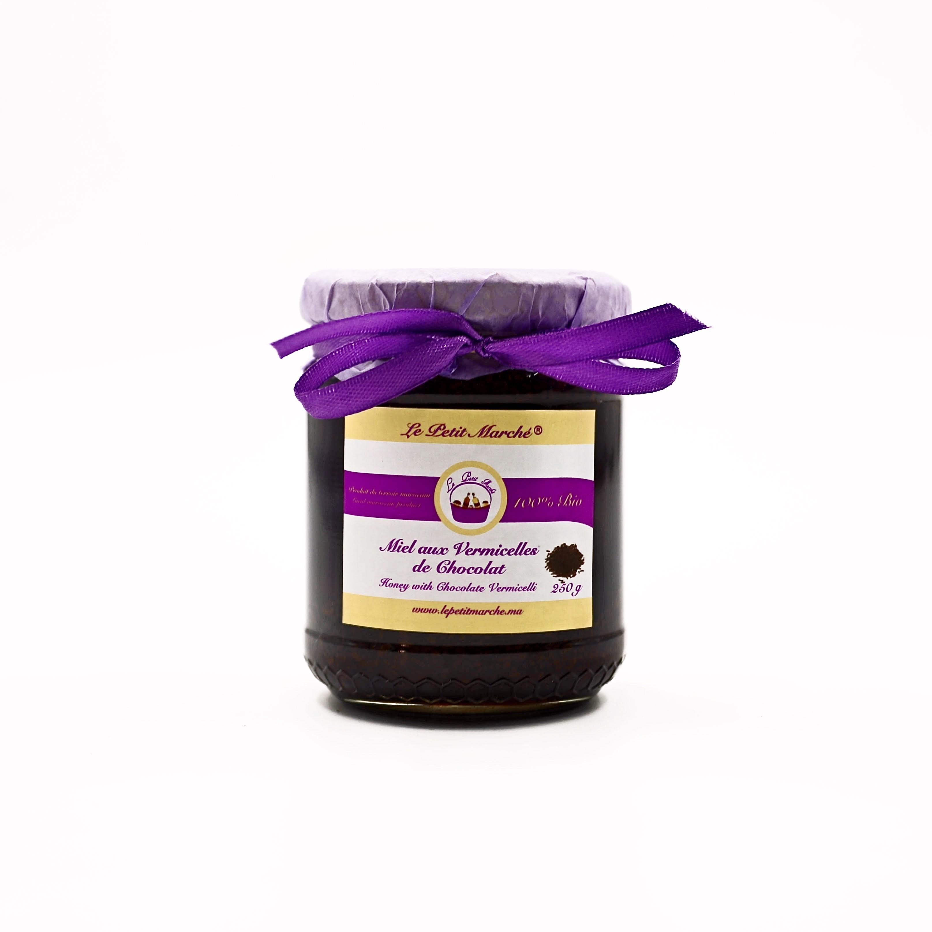 Miel aux vermicelles de chocolat 250 g