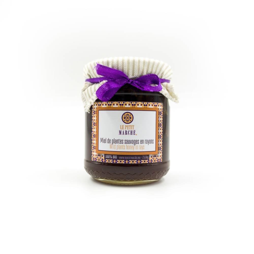 Miel de plantes sauvages en rayons 250g